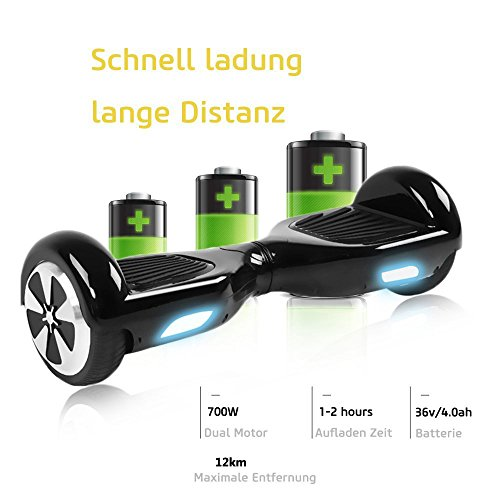 Hoverboard BEBK Zoll Self Balancing Bild 5*