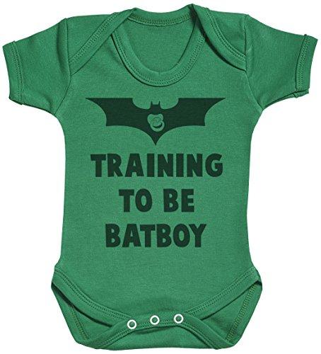 Training to Be Bat Boy Body bébé - Gilet bébé - Body bébé Ensemble-Cadeau - Naissance Vert