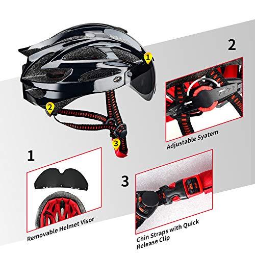 514zSplX6kL XINERTER Adult Bike Helmet Road Bike