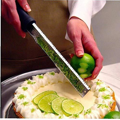 Limone Zester, Grattugia Zester per La Cucina Ginger Aglio Noce Moscata Citrus Aglio Arancione Cioccolato Verdura Frutta, Accessori per Cucina