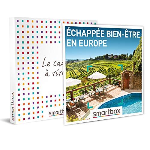 Smartbox - Coffret Cadeau Femme Homme - Échappée Bien-être en Europe - idée Cadeau - 1 Nuit et 1 séance de Bien-être pour 2 Personnes