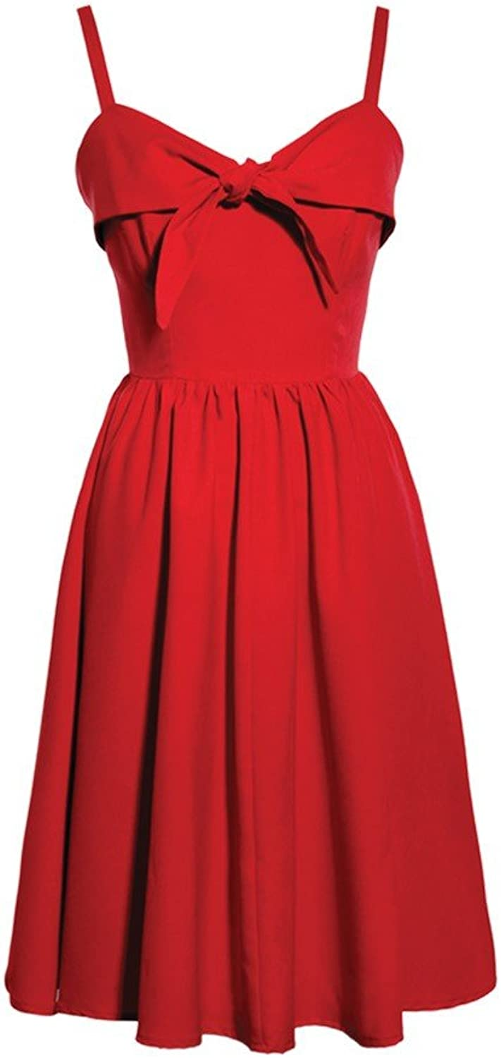 Lucky 13 Retro Lucille Red Swing Dress