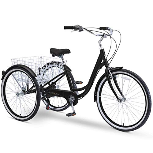 sixthreezero Body Ease 26 Inch 7-Speed Adult Tricycle