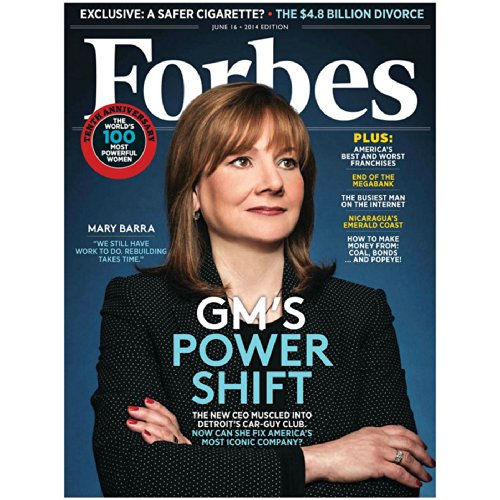 Forbes, June 2, 2014 audiobook cover art