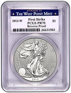 2013 W Silver Eagle FIRST STRIKE Dollar DCAM PCGS PR-70