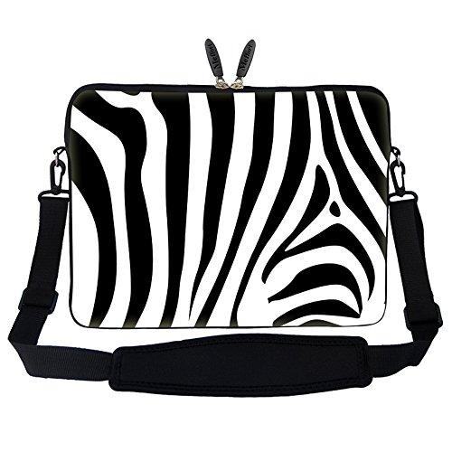 Meffort Inc 17 17.3 inch Laptop Sleeve Bag Carrying Case with Hidden Handle and Adjustable Shoulder...