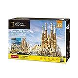 World Brands National Geographic Puzzle 3D Sagrada Familia, Multicolor (Tachan DS0984h)