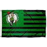 WinCraft Boston Celtics Americana Stripes Nation 3x5 Flag
