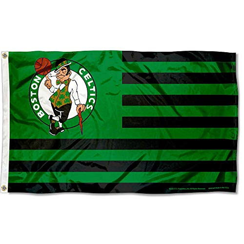WinCraft Boston Celtics Americana Stripes Nation 3x5 Flag