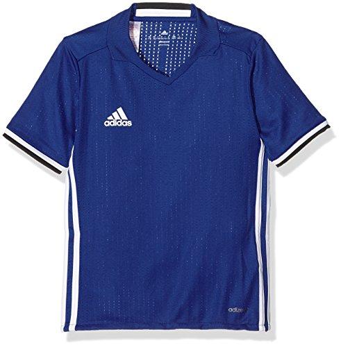 adidas Jungen Condivo 16 Trikot T-shirt CONDIVO16 Jersey Y, Bold Blue/White, Gr. 140 (Herstellergröße: 8/10 Jahre)