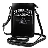 Hdadwy Borsa a tracolla cosmetica per donna con borsa per cellulare Starfleet Academy