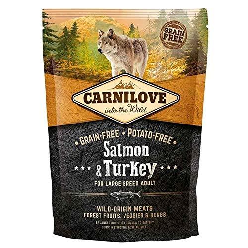 1,5 KG Carnilove salmon/turkey adult large breed hondenvoer