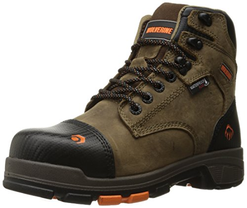 WOLVERINE Men's Blade LX Waterproof 6' Comp Toe Work...