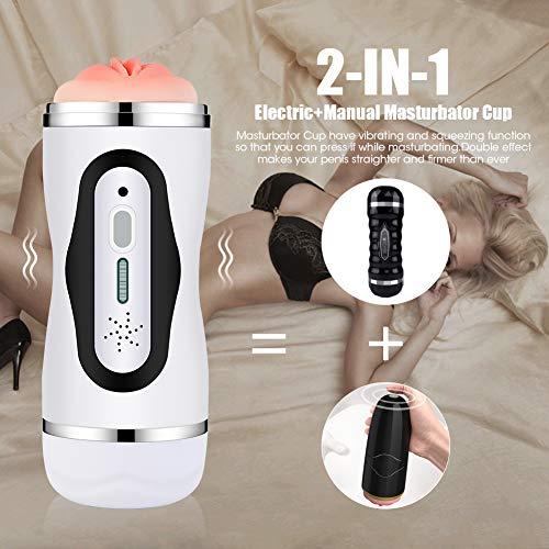 2 in 1 Massaggiatore Multifunzione Massaggiatore con funzione di Riscaldamento-10 Modalità