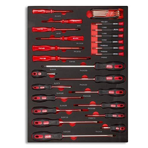 hanSe® Werkstattwagen gefüllt 245-teilig Werkzeug Werkstatt - 8