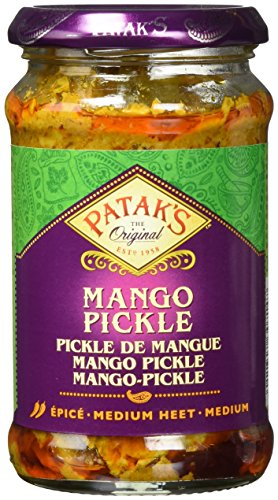Patak's Mango Pickle, mittelscharf, 6er Pack (6 x 283 g)