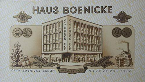 Zigarren-Etikett Haus Boenicke Marca Selecta