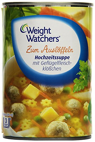 Weight Watchers 76006608 Hochzeitssuppe, Dose, 395 ml