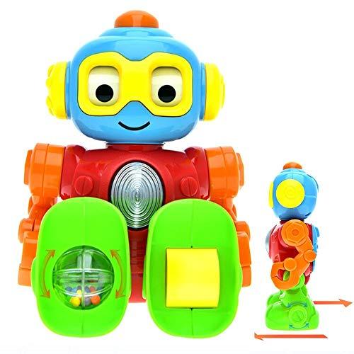 WEofferwhatYOUwant Robot Juguetes Bebe 9 Meses . Robot Educativo para Aprender Sonidos Chulos Interactivo . Robot Que Habla