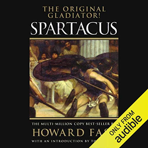 Spartacus audiobook cover art