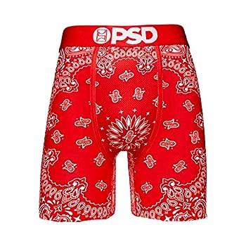 PSD Men s Brief Underwear Bottom  Red/Red Bandana XL