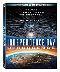 blu-ray cover for the second Independence Day