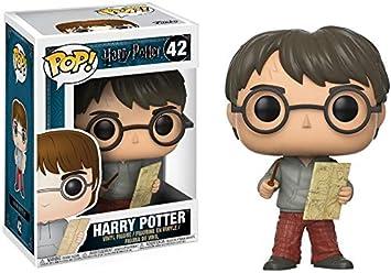 Funko - POP! Vinilo Colección Harry Potter - Figura Harry con el mapa del merodeador (14936)