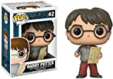Funko- Pop Vinile Potter Figure Harry W/Marauders Map, 9 cm, 14936