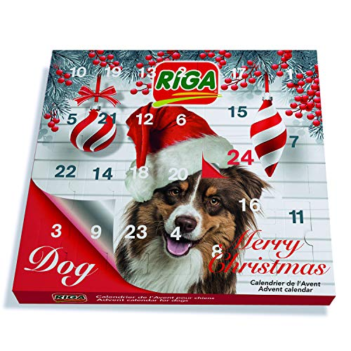 Riga Adventskalender voor hond, 130 g