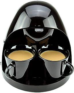 آلة القهوة التلقائي نوع التنقيط ، آلة القهوة إسبرسو زر واحد ، تنتج 2 كوب قهوة أو شاي ، للمكتب المنزلي