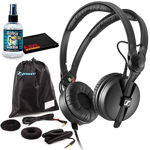 Sennheiser HD 25 Plus Monitor Headphones with Sanitizer and Cleaning Cloth
