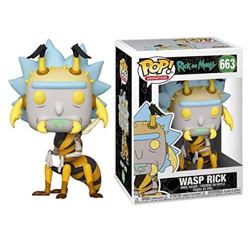 Funko Pop Rick and Morty - Wasp Rick #663 Vinyl 3.75inch Animation Figure Anime Derivatives Boy's...
