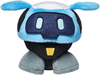 Official Blizzard Overwatch Snowball Plush and 6 Emotion Eye Patches Included