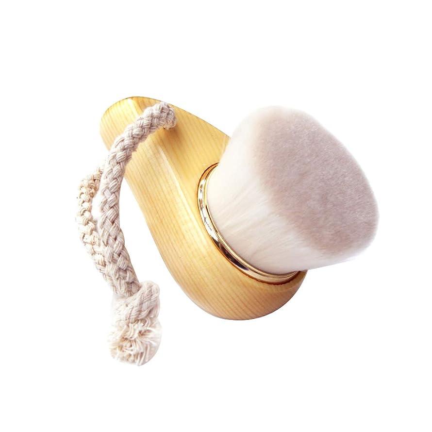 かまど代わりにを立てるリップマニュアル洗顔ブラシ洗浄ブラシは、洗浄化粧ブラシ毛は白マッサージ剥離繊維深いポア毛