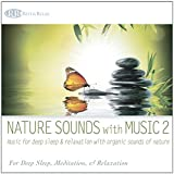 Nature Sounds with Music 2: Music for Deep Sleep & Relaxation with Organic Sounds of Nature (Ocean Waves, Forest Sounds, Soft Rain & Wilderness Stream)