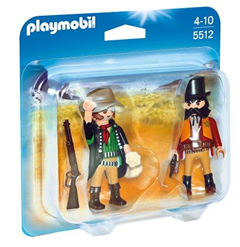 Playmobil - 5512 - Cow-boy Bandit & shérif