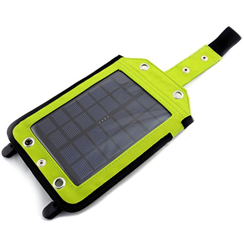 powerneed, sunen)–Caricabatterie solare con pannello solare ideali per los viajeros di telefono lettore mp3