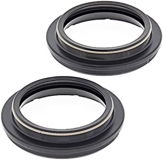 New All Balls Racing Fork Dust Seal Kit For BMW F 800 GS 2006 2007 2008 2009 2010 2011 2012, F 800 R 2015 2016, G 450 X 2007 2008 2009 2010, G 650 X Challenge 2006 2007, G 650 X Country 2006 2007 2008