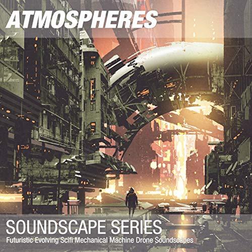 Futuristic Scifi Mechanical Machine Drone Soundscape 010