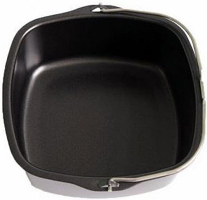 NAMYA freidora eléctrica de aire antiadherente accesorio para Philips HD9925/00 compatible con HD9232 HD9233 HD9220 HD9627 HD9621 modelos de freidora de aire