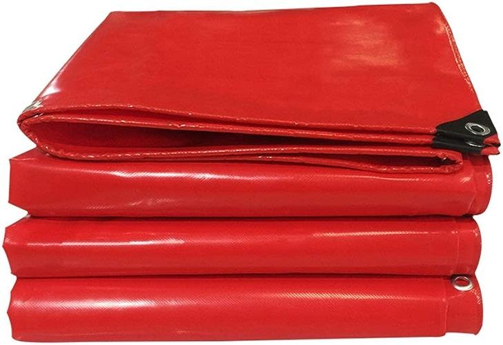 YONG FEI épaissir poncho bache de prougeection en plein air tente de prougeection solaire pare-poussière d'extérieur, rouge, 7 tailles Baches de prougeection (Taille   3mX3m)