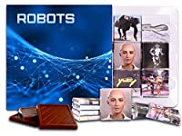 """DA CHOCOLATE キャンディ スーベニア """"ロボット"""" ROBOTS チョコレートセット 5×5一箱 (Web)"""