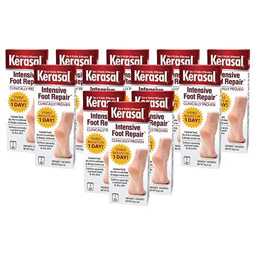 Kerasal Intensive Foot Repair Ointment 1 oz (Pack of 12)
