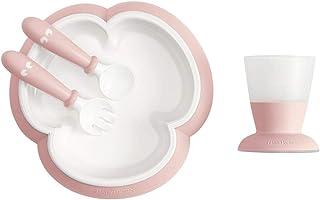 BABYBJÖRN 婴儿喂食套装,4 件套 粉红色