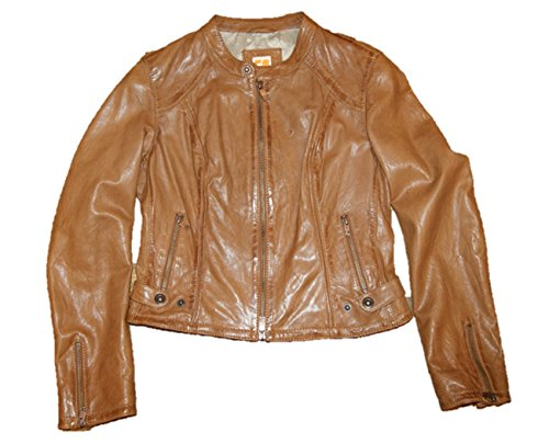 BOSS ORANGE Lederjacke Janise-W Farbe Brown 231 38