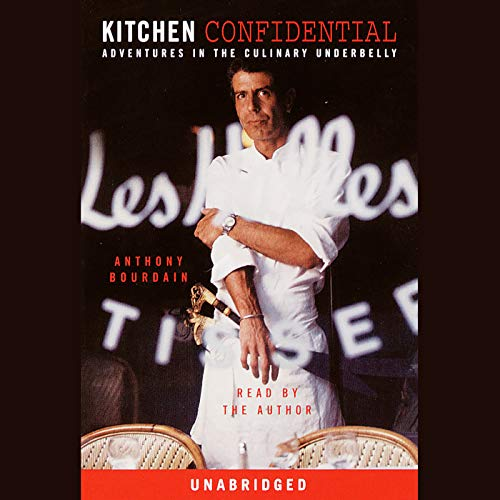 Kitchen Confidential audiobook cover art