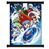 Beyblade Metal Fusion Anime Fabric Wall Scroll Poster