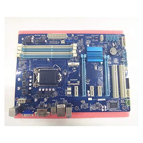 WERTYU Placa base para juegos Gigabyte GA-B75-D3V, B75-D3V B75, Socket LGA 1155 DDR3 ATX