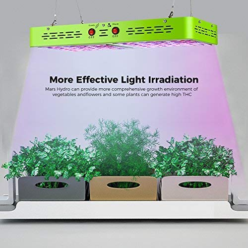 MARS HYDRO Reflector 480W Led Grow Light for Indoor Plants Bloom Veging Flowering Full Spectrum Grow light for Hydroponics Greenhouse