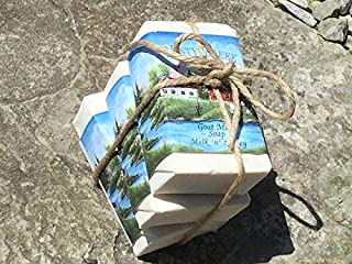 Moisturizing Misty Creek Goat Milk Soap Bar 3 oz Milk 'n' Honey scent (soothing, relaxing, and calming) Excellent for Psoriasis, Eczema, Dry & Sensitive Skin